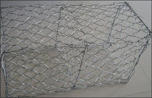 BOX GABIONS MADE OF HOT –DIP GALVANIZED WIRE MESH for shoreline protection